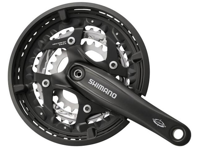 Shimano Trekking FC-T521 Octalink Kurbelgarnitur 3x10-fach 48-36-26 Zähne schwarz